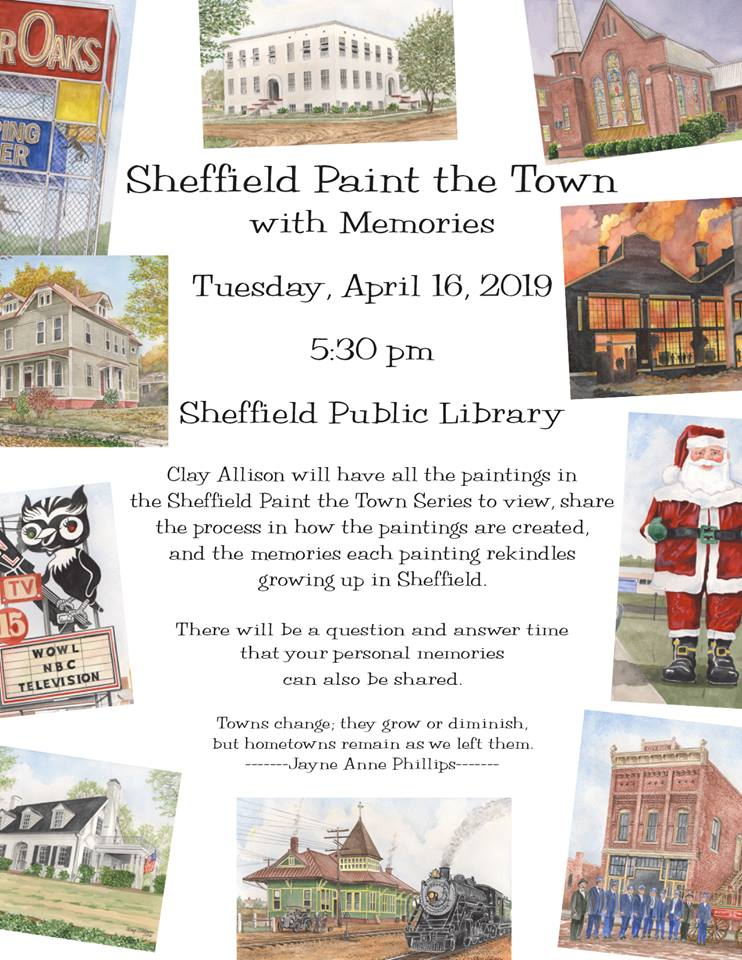 Sheffield Paint The Town event